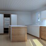 Team 7 Küche mit Glasfront